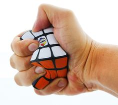"""Does solving a real Rubik's Cube stress out? Then this Rubik's Cube Stress Ball is the cube for you! Stress ball measures 2"""" x 2"""" x 2"""" and features all the colors of the classic puzzle game. Official"""