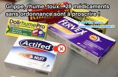 """Le magazine 60 millions de Consommateurs a fait une enquête sur ces médicaments. Leurs conclusions sont inquiétantes ! Sur les 61 médicaments les plus vendus, 28 sont tout simplement """"à proscrire"""". Découvrez l'astuce ici : http://www.comment-economiser.fr/toux-rhume-gripp-28-medicaments-proscrire.html?utm_content=bufferd1d39&utm_medium=social&utm_source=pinterest.com&utm_campaign=buffer"""
