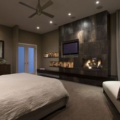 Contemporary Bedroom Design, Pictures, Remodel, Decor and Ideas - page 21