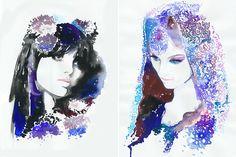 cate parr art | Cate Parr watercolor prints and originals