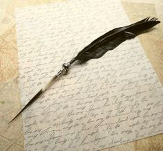 Elegant Feather Pens