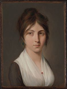 Portrait of a Young Woman, by Louis Léopold Boilly (French, La Bassée 1761–1845 Paris). Date: ca. 1798–99.