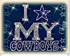 Dallas Cowboys by Elaine