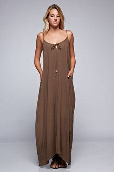 Beautiful light-weight pocket maxi dress. #dress #maxi #pocket #gypsyoutfitters