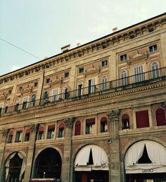 Regular building of Italian masterpieces. #bologna