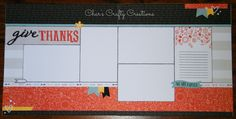 CTMH Swan Lake layout by Char's Crafty Creations. My version of the Workshop Your Way.
