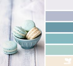 Gorgeous pale pale shades of this colour palette cream,duck egg green & lavender color scheme - silver/mirror