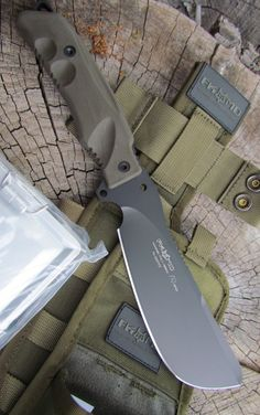 Fox Parang Bushcraft Fixed Knife Blade