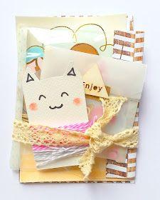 Buzón Craft: Inspiración de Loneta: correo bonito