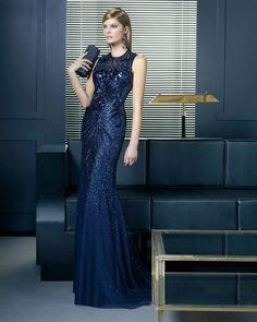 @roressclothes closet ideas #women fashion Sequined Maxi Dress by Rosa Clara