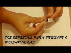 PRENSATELA DE FRUNCIR PARA MAQUINAS DOMESTICAS - YouTube