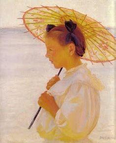 1886 Olga Boznanska (Polish Impressionist painter, 1865-1945)