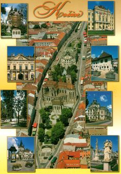 Postcard from Kosice, Slovakia.