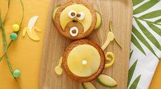 La nouvelle recette Kiri : le singe qui va vous donner la banane :) KIRI gâteau recette enfant rigolo singe mangue