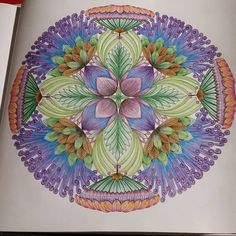 """Fin! #colouring #colouringbook #colours #colourful #adultcoloringbooks…"