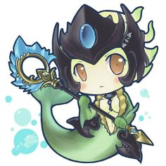 #nami #lol #league of legends #chibis #cute