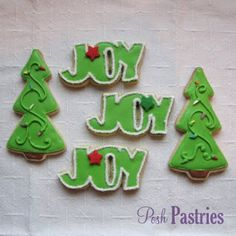 Posh Pastries: Christmas Cookies!!!