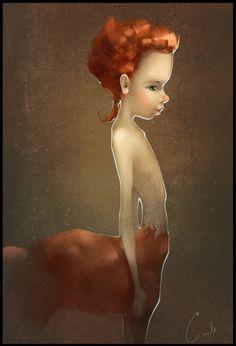☆ Centaur :¦: By Artist Alexandra Khitrova ☆