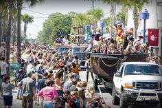Tybee Island Pirate Fest - Columbus Day Weekend Oct 5-7th 2012   Escape the Ordinary if Only for a Weekend!