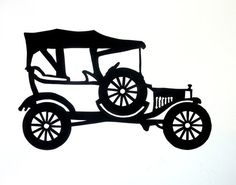 "A true classic. The Model T Ford and the Model A Ford cars jump started America and perhaps the world into modern mass manufacturing.. Start your collection now as there will be several more classic cars. It is sized and mounted for a 8"" x 10"" picture frame and also looks great with a mat in a 11"" x 14"" frame. This wall hanging is completely handmade in the USA and the MPN is PSTRA03. This listing does not include the frame.  My paper cut silhouette wall hanging pictures are not prints. Each…"