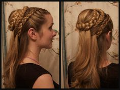 GOT Daenerys hair style