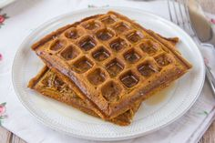 Make and share this Spiced Pumpkin Waffles recipe from Food.com. Used less milk and added more pumpkin pie spice. Topped with butter and honey.