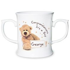 Personalised Teddy Loving Mug  from Personalised Gifts Shop - ONLY £12.99