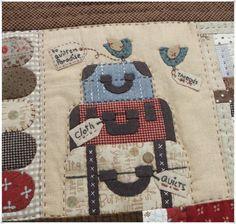 Lancaster Quilt Plus Small Quilts, Mini Quilts, Applique Quilts, Embroidery Applique, Anni Downs, Homemade Quilts, Bird Quilt, Country Quilts, Lancaster