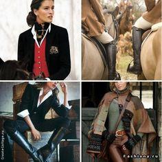 Английская история. Equestrian Look / наташа лаурель