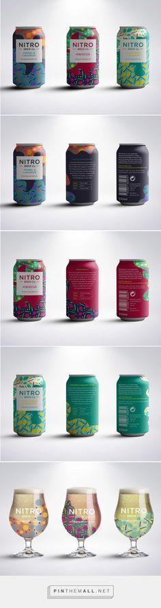 Nitro Brew Co. tea ppackaging by Rachel Buchanan