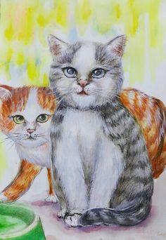 Sara: Still painting 【cats】