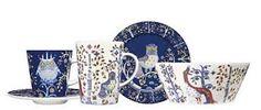 Taika Dinnerware from iittala & iittala Kitchenware Square Dinnerware Set, Dinnerware Sets, Holiday Dinnerware, Contemporary Dinnerware, Kitchenware, Tableware, Blue China, Serveware, Best Brand