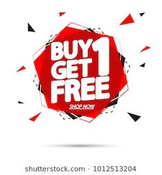 buy 1 get 1 free sale tag banner design template app icon vector illustration Business Poster, Got 1, Buy 1 Get 1, Sale 50, Business Design, Banner Design, Free Design, Royalty Free Stock Photos, Illustration
