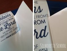 How To Conserve Vinyl and Your Cutting Mat by My Paper Craze for Silhouette School