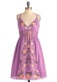 New Zeal Dress in Violet, #ModCloth