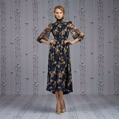 Ulyana Sergeenko dress from Spring - Summer 2014 collection