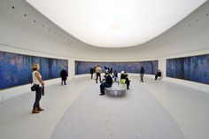 Orangerie Museum - Places to Visit in Paris Claude Monet, Liberty Leading The People, Paris Bucket List, Night Bus, Monet Water Lilies, Old Train Station, Large Scale Art, The Birth Of Venus, Viajes