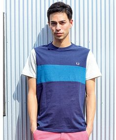 Fred Perry Tシャツ ブロッキングT メンズ / Color block T shirt on ShopStyle