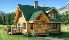 Fontana Log Home: The Perfect Little Cottage For That Secluded Spot In The Woods Or On The Lake
