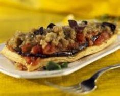 Tatin d'aubergines et de tomates (facile, rapide) - Une recette CuisineAZ