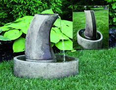Tranquil Column Fountain | Massarelli's