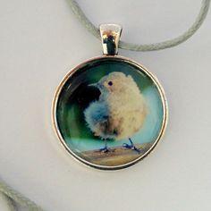 Pieper, Vögelchen  - Vogelkette von sperlingsfrau auf DaWanda.com