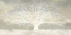 Alessio Aprile - White Tree - Art Print
