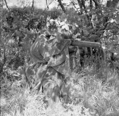 A camouflage suit for a sniper of the British Army - Argunners Argunners
