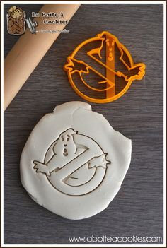Emporte-pièce Ghostbusters - Cookie cutter Ghostbusters -  LaBoiteACookies.com