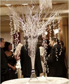 Winter wedding centrepiece #centrepiece #winterwedding #unicodecor
