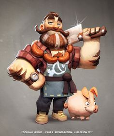 Social/Casual Game Concept by Johannes Helgeson Game Character Design, Character Poses, Character Creation, Character Design References, 3d Character, Character Drawing, Character Design Inspiration, Character Illustration, Character Concept