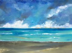 """Sarah B. Lytle Original Oils for sale- 30""""x40"""" Approaching Storm, deep gallery wrapped canvas"""