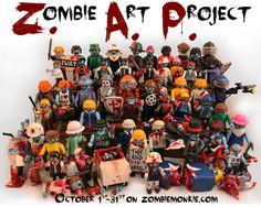 Zombie Playmobil Project