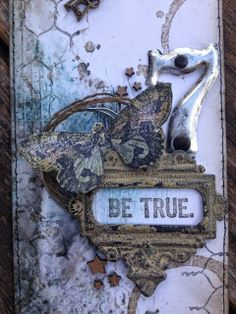 Altered  Inked: Be True - With 7dots Studio
